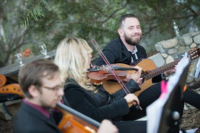 Wedding Guitarist Ceremony Musicians Strings Los Angeles Orange